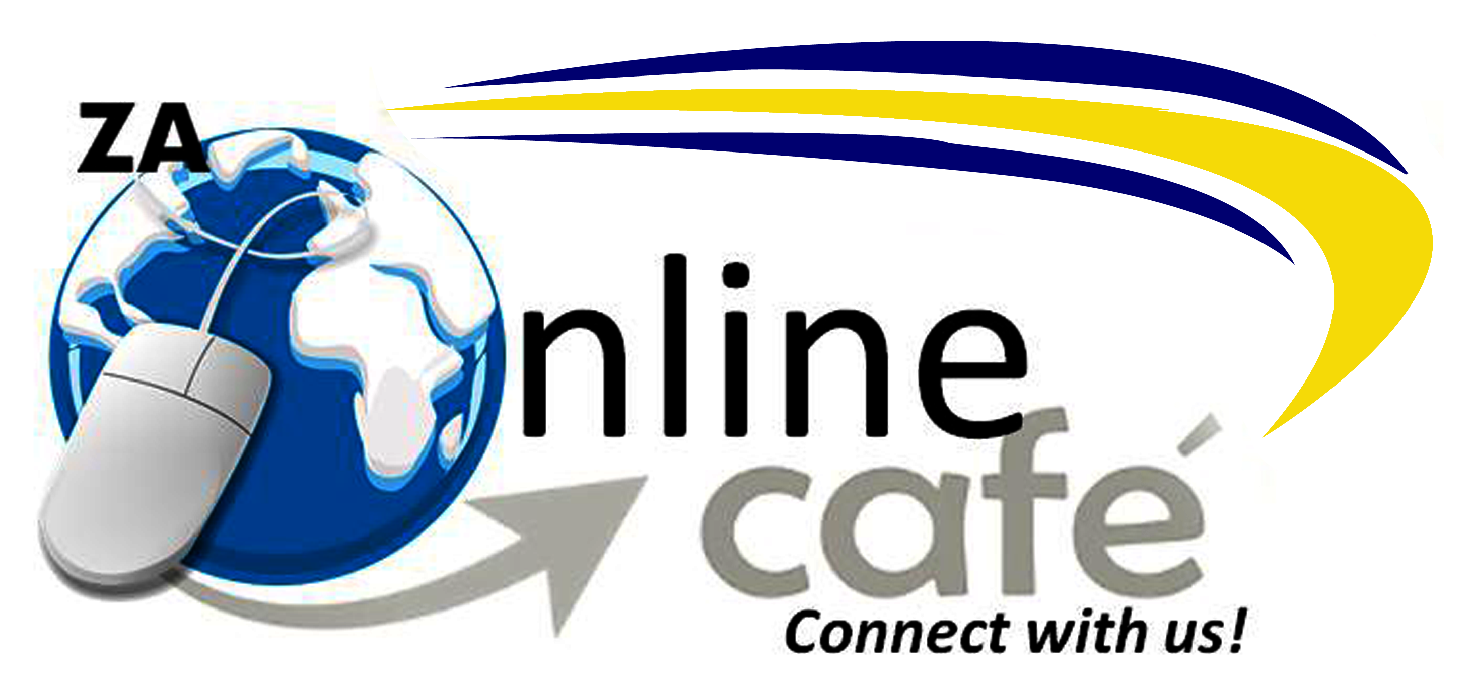 ZA Online Cafe Logo